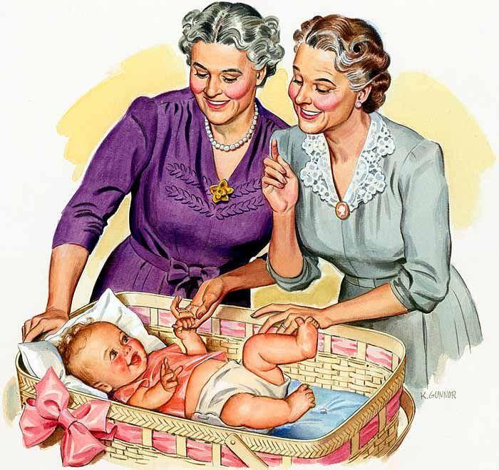 Атаката на бабите – живот след раждането