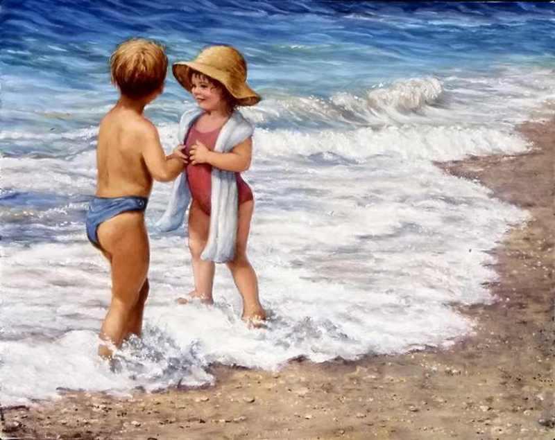 Игри във водата – 7 лесни начина да забавлявате детето на плажа